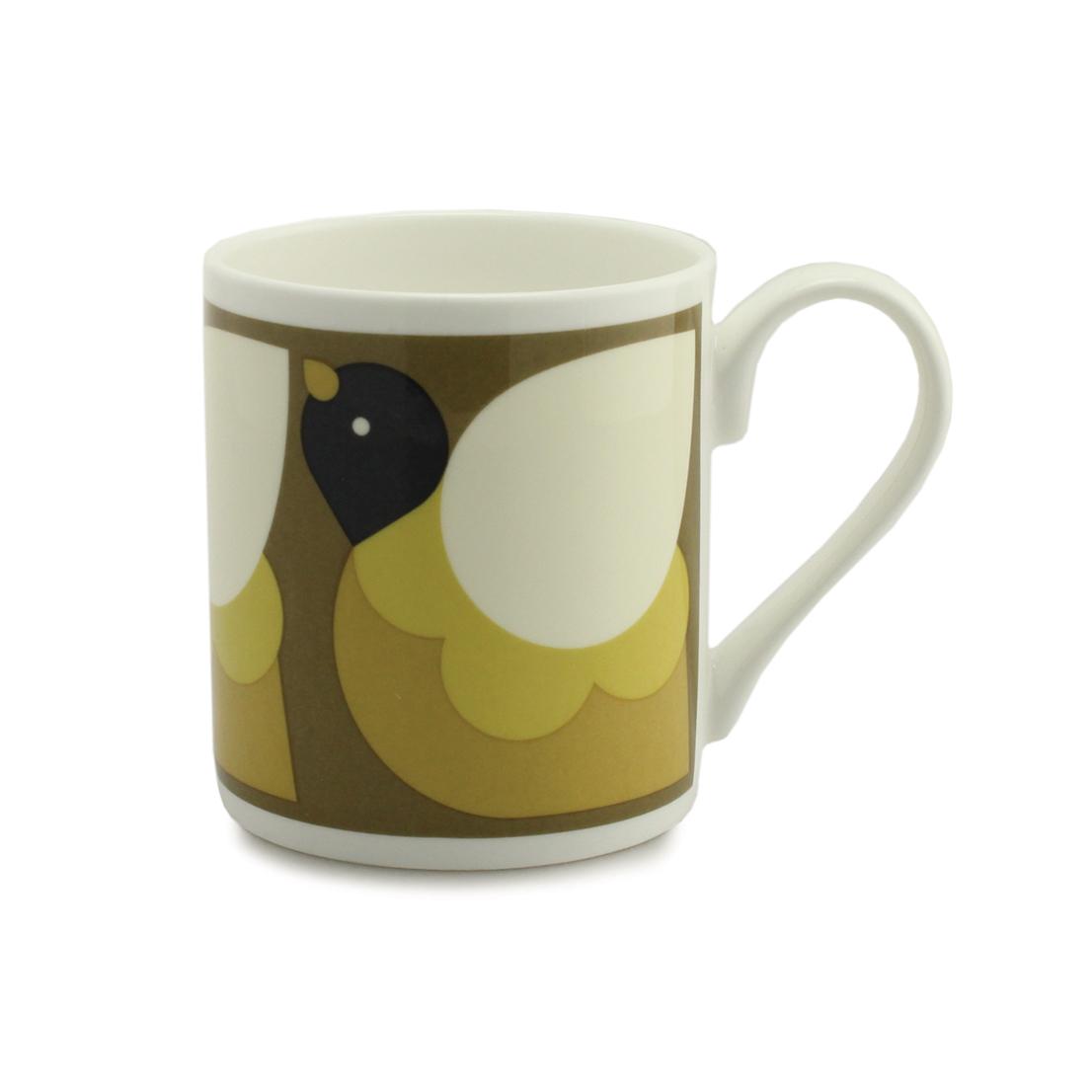Orla Kiely Mug - Partridge Fawn