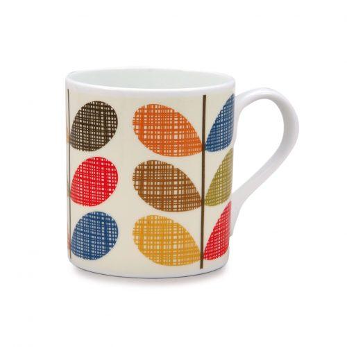 Orla Kiely Mug - Scribble Multi-stem