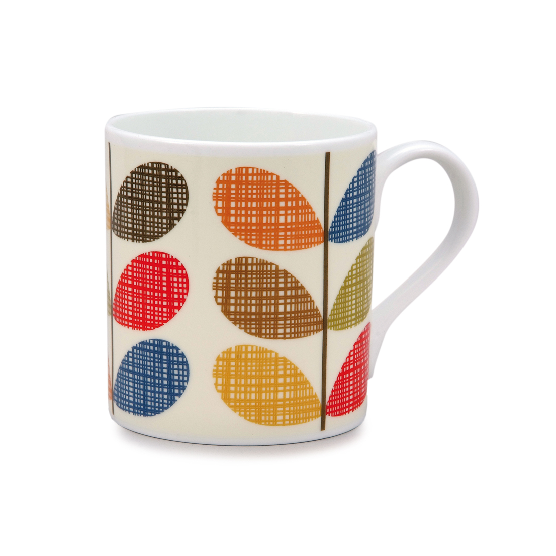 Orla Kiely Mug - Scribble Multi-stem