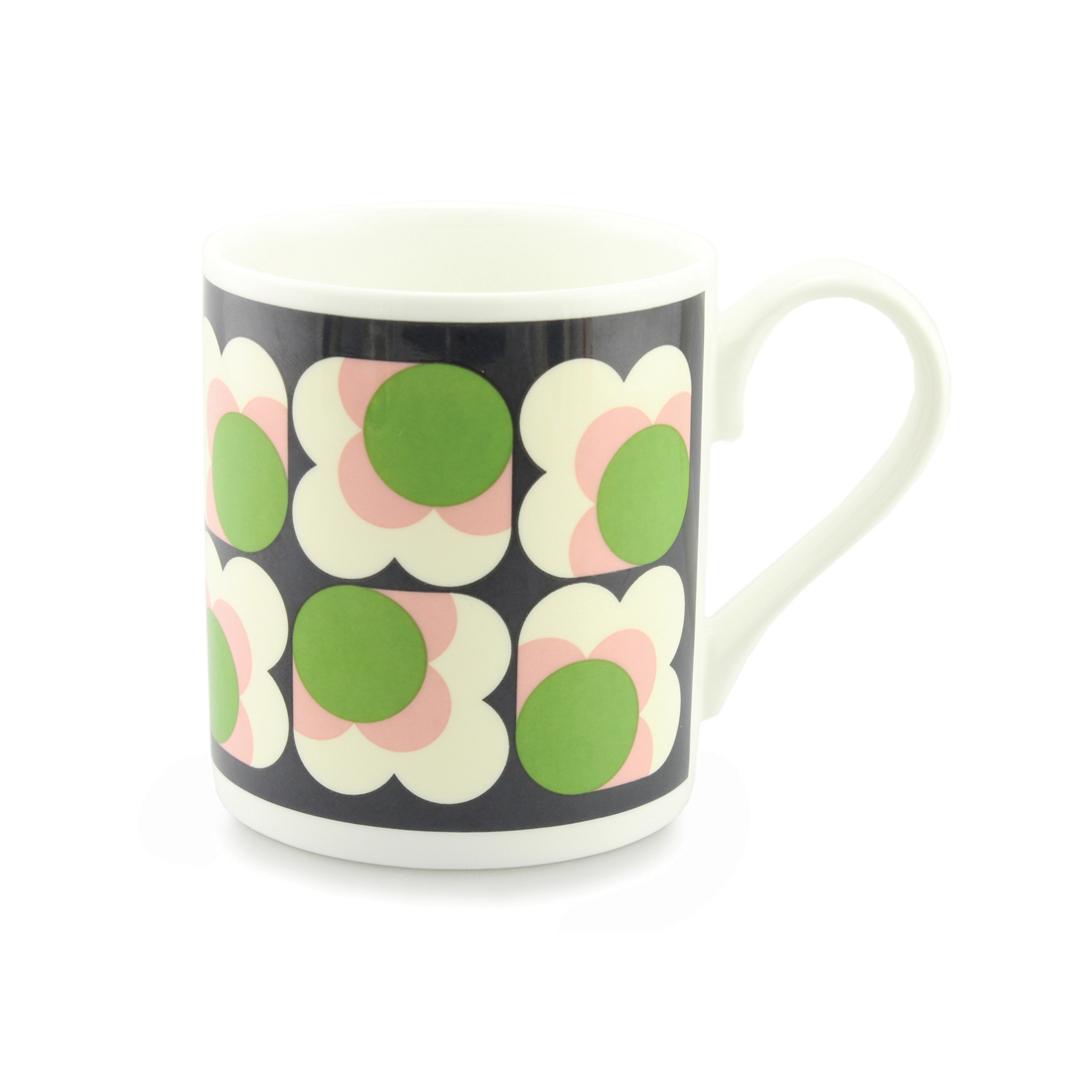 Orla Kiely Mug - Apple Big Spot Flower