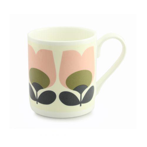 Orla Kiely Mug - Tulip Olive